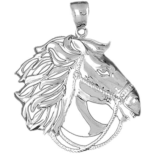 Jewels Obsession Colgante de plata de ley 925, 48 mm