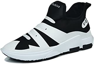 Happy-L Shoes, Men's Cloth Vamp Athletic Sneakers Not Casual with A Pedal Personality to Wear-Resistant Sports Shoes