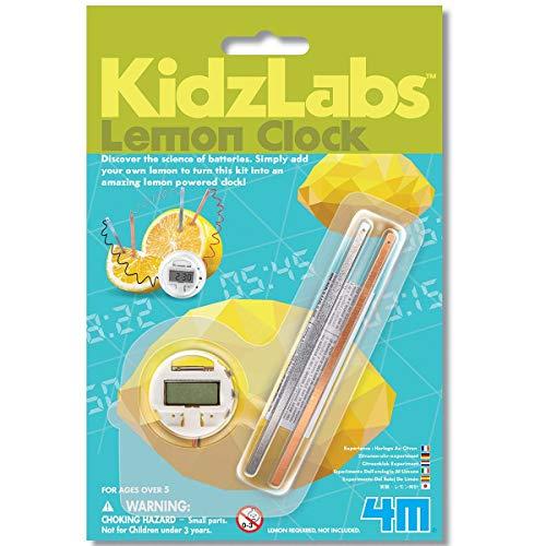 4M KidzLabs Science Card: Lemon Clock, en Blister 13x19.5x3.8cm, 5+
