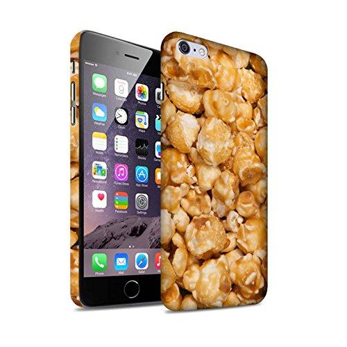 Carcasa/Funda Mate Broche de Presión en para el Apple iPhone 6+/Plus 5.5 / serie: Aperitivos - Palomitas Butterkist