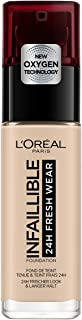 L'Oreal Paris Infallible 24hr Freshwear Liquid Foundation 20 Ivory 30ml