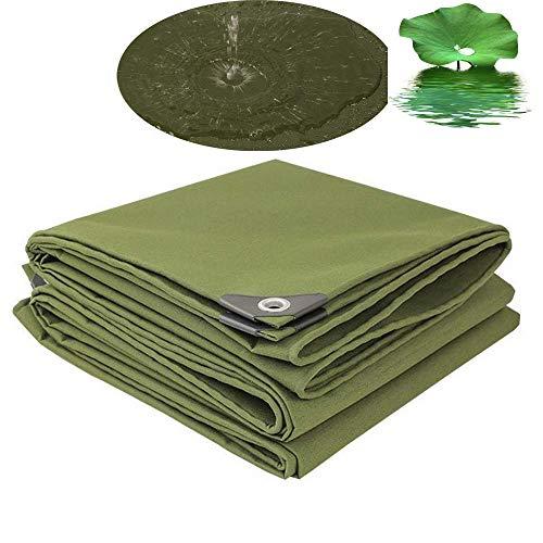 ZGYQGOO Housse Protection pour bâche Protection en Toile bâche imperméable en Toile bâche Sol avec Oeillets - - Housse Camping pour Tente 12 Tailles (2M * 2M)