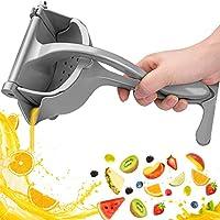 automoness spremiagrumi manuale in lega di alluminio di alta qualità, strumento di spremitura manuale portatile per frutta, limoni, arance