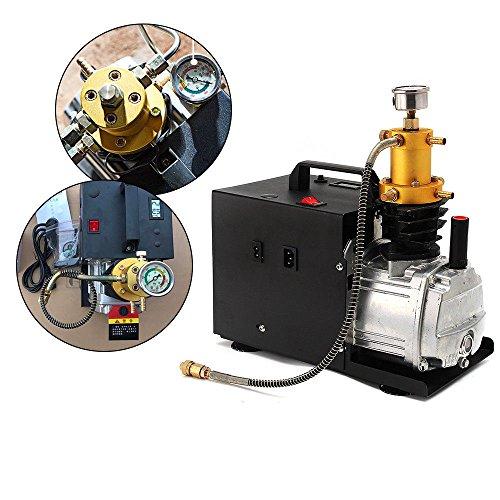 Elektrische Druckluft Kompressor 1800W PCP 40MPA 4500PSI kompressor Pumpe LuftPumpe Hochdruckluftkompressor Luftkompressor