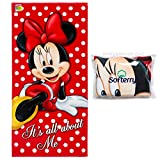 Disney Minnie Mouse Beach Towel - It's All About Me 28 x 58...