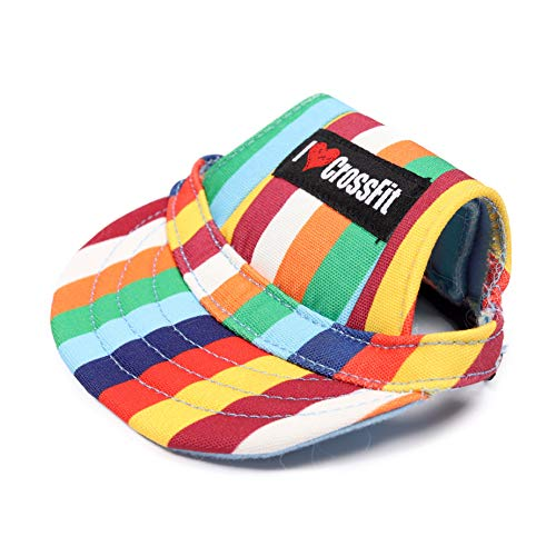 MACXFIT Dog Hat (Large, Color Stripe)