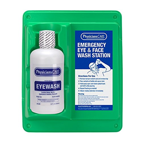 PhysiciansCare 32 oz. Single Bottle Eyewash Station, (24-202)