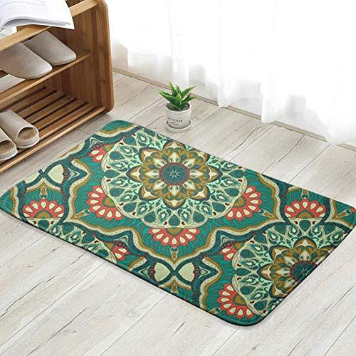goodsale2019 Felpudo con Textura Floral Adornado sin Fin diversión China Felpudo de Bienvenida Personalizado Alfombrillas de Interior Sala de Estar Dormitorio