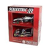 Scalextric Original - Pack Dúo Surtido 2 (F1 McLaren Magnussen Deco 2014 - Chevrolet Corvette C6R GT Open) (Fábrica de Juguetes A10169S300)