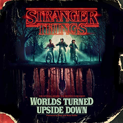 Stranger Things: Worlds Turned Upside Down audiobook cover art