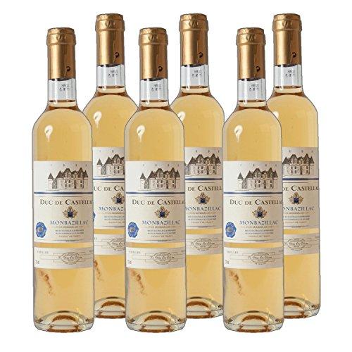 Duc de Castellac - Monbazillac AC Dessertwein Frankreich süß 2014 lieblich (6x 0.75 l)