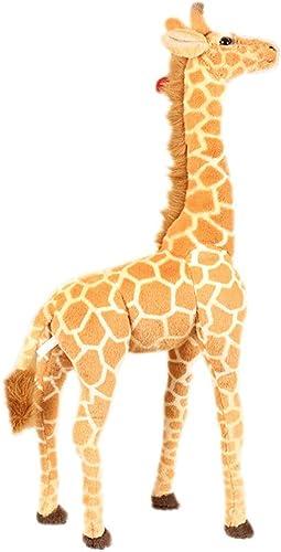 Giraffe Puppe Plüschtier Kinder Größe Tier Puppe Fotografie Requisiten Home Decoration100cm120cm (Farbe   100cm)