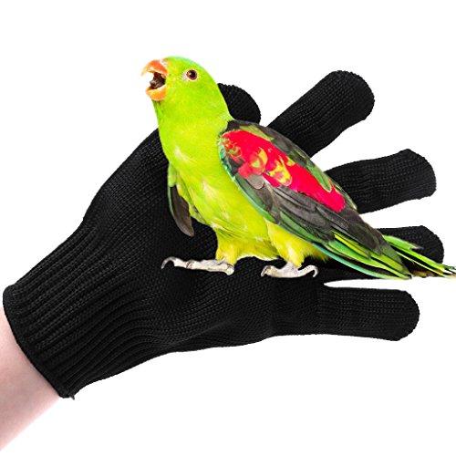 Tandou Vogelschutzhandschuhe für Papageien, Hamster, Kauen, Arbeitsschutz, Schutzhandschuhe