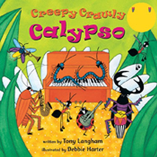 Creepy Crawly Calypso audiobook cover art