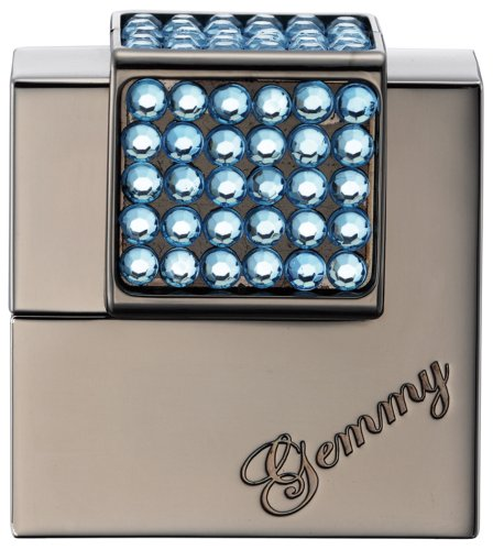 WINDMILL(ウインドミル) ガスライター GEMMY 電子式 レディース アクアマリン W07-1002