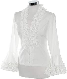 Camisa flamenca PEPA ROJA