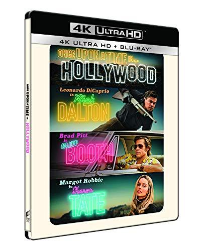 C Era Una Volta... A Hollywood - Steelbook 4K Ultra Hd (2 Blu Ray)