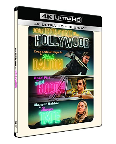 C'Era Una Volta A... Hollywood - Steelbook 4K Ultra Hd  (2 Blu Ray)