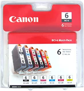 Canon Canon BCI-6 Color Ink Tank 6-Pack Set