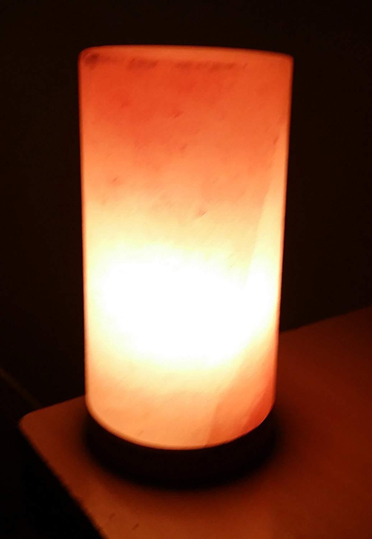HSD - Juego de lámparas de sal de Himalaya con forma de pirámide ...