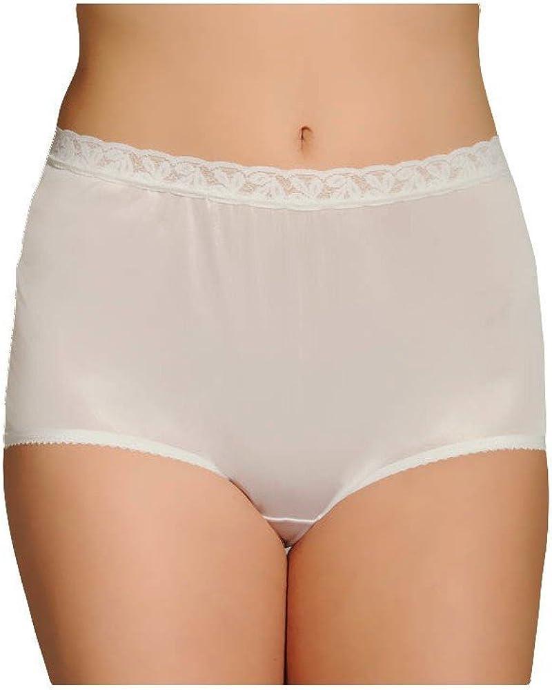 Shadowline Lo-Rise Pantie 100/% Nylon Size 9  Black  Fits Hips 51-53  17014