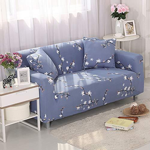 WXQY Funda de sofá Antideslizante elástica con Todo Incluido Funda de sofá antiincrustante elástica para decoración de Sala de Estar Funda de sofá A16 3 plazas
