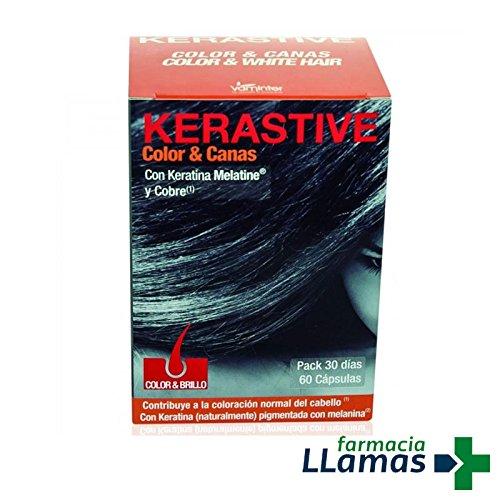 Vaminter Kerastive Color Melatine 60Cap. 200 g 1 Unidad