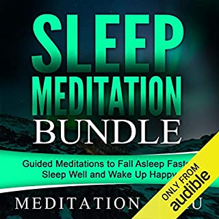 Sleep Meditation Bundle audiobook cover art