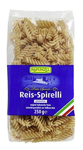 Rapunzel Reis Spirelli (Nudeln aus Vollkorn-Reis) - 12er Pack (12 x 250g) - BIO