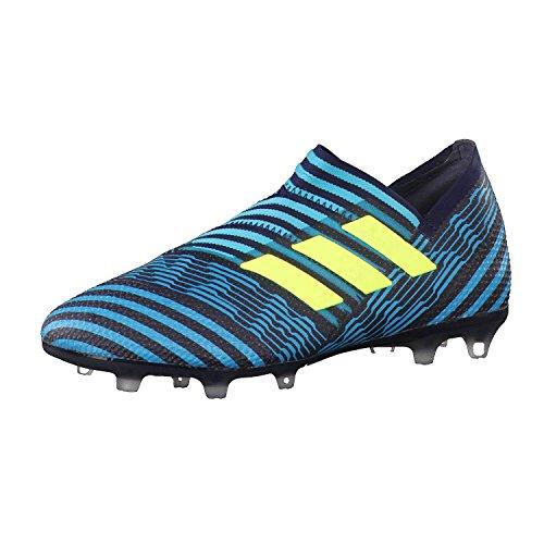 adidas Unisex-Kinder Nemeziz 17+ 360Agility FG Fußballschuhe, Blau (dunkelblau/gelb dunkelblau/gelb), 36 2/3 EU