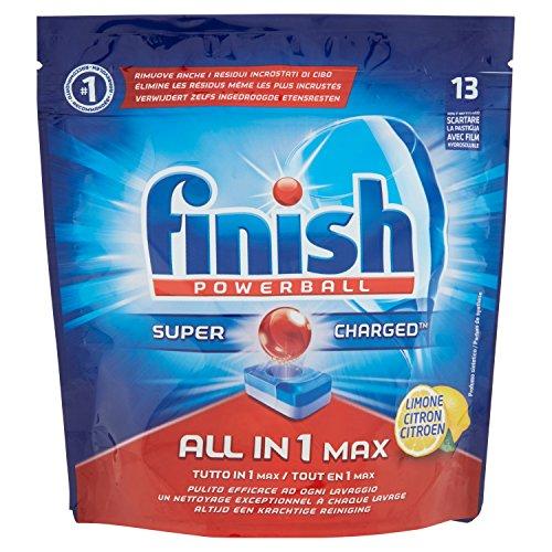 Finish All-in-1 Max Geschirrspültabs, 13Tabs, 242g Lemon