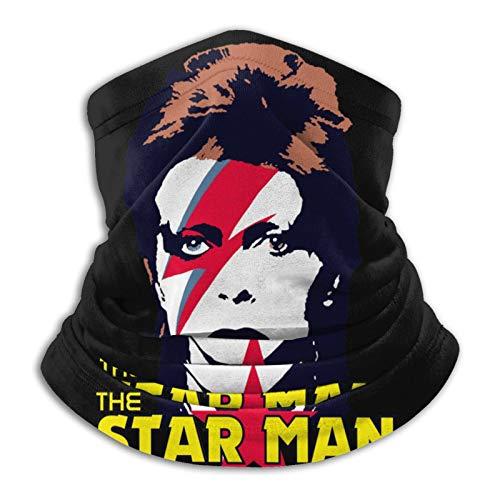 Famiglistimo Bowie - Pasamontaas unisex de microfibra para cuello