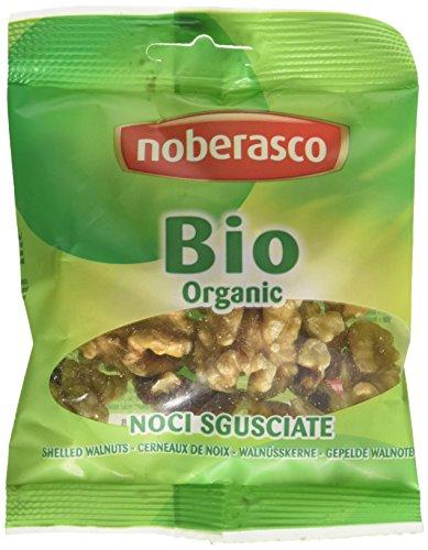 Noci Sgusciate Bio Noberasco -fai scorta con il cartoncino da 12 confezione da 40g-Noci sgusciate da agricoltura biologica