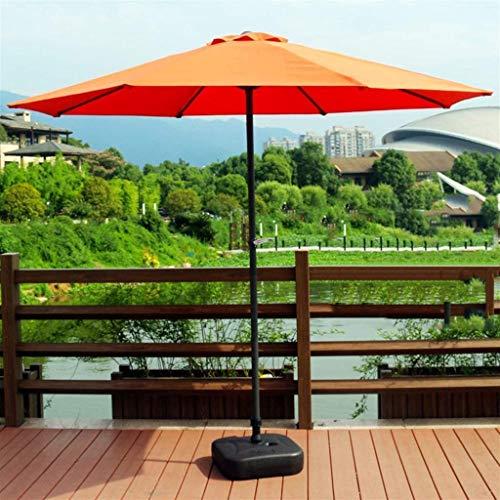 FGVBC Sombrilla Recta para jardín y Patio con Poste de Metal, Patio al Aire Libre, Playa, Camping, Piscina, balcón portátil, sombrilla Pat (Silla)