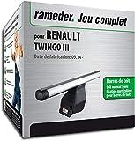 Rameder Pack Barres de Toit Tema pour Renault TWINGO III (138381-13195-2-FR)