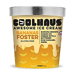 Coolhaus Ice Cream, Bananas Foster, 16 oz (Frozen)