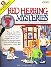 Red Herring Mysteries Level 2 - Solving Mysteries through Critical Questioning (Grades 7-12)