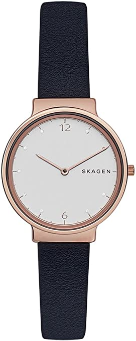 Skagen Women's SKW2608 Ancher Analog Quartz Blue Watch