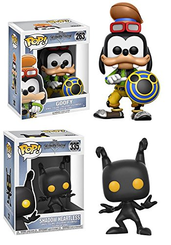Funko POP! Disney: Disney Kingdom Hearts: Goofy + Shadow Heartless