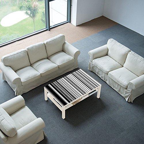 DekoGlas IKEA - Mesa Auxiliar con Tablero de Cristal: Amazon.es ...