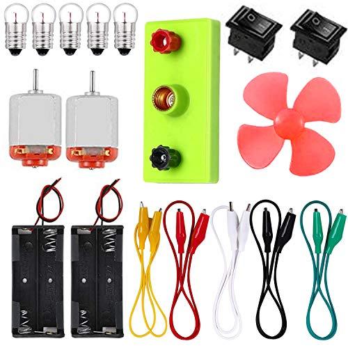 Larcenciel Electric Circuit Motor Kit, Educational Montessori Learning Kits for Kids Junior Senior High School Students DIY STEM Science Project