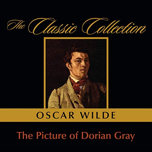 The Picture of Dorian Gray audiobook cover art