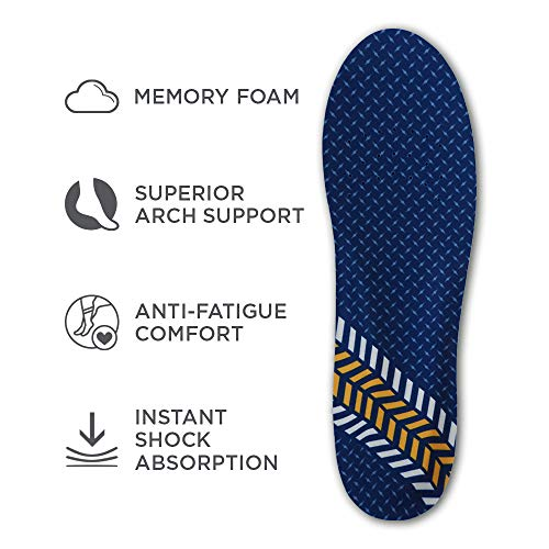 Arm & Hammer Memory Foam For Men Insoles