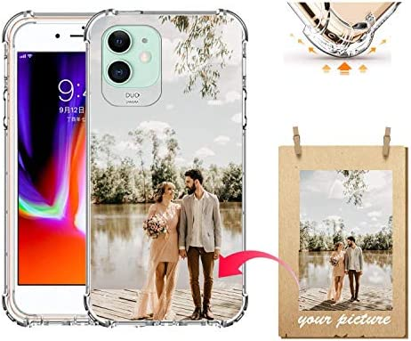 Z Y Custom 2020 iPhone 12 Pro Max Xr 7 8 Plus Case Clear 4 Corners Shockproof Protection Soft product image