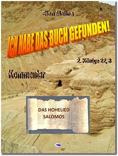 """DAS HOHELIED SALOMOS: aus: """"Ich habe das Buch gefunden"""" (BS-D 22)"""