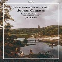 Soprano Arias & Cantatas by KUHNAU / ALBRICI (2011-01-25)