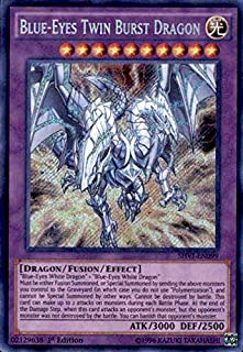 Yu-Gi-Oh! - Blue-Eyes Twin Burst Dragon (SHVI-EN099) - Shining Victories - Unlimited Edition - Secret Rare