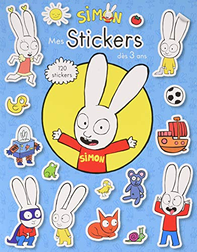 Simon - Mon cahier de stickers