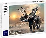 Lais Puzzle Agujaceratops Dinosaurs 200 Pieces