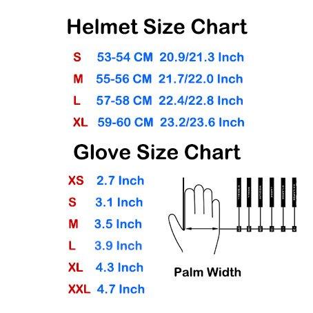 Product Image 7: 1Storm Motocross Adult Helmet BMX MX ATV Dirt Bike Helmet Racing Red + Goggles + Skeleton Red Glove Bundle